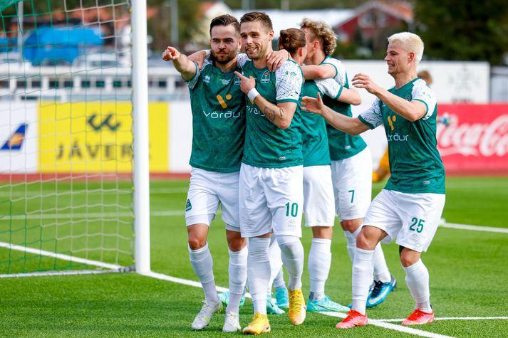 Blikar unnu góðan 2-1 sigur á Austria Vín í síðustu viku og mæta Aberdeen frá Skotlandi í næstu umferð Sambandsdeildarinnar.