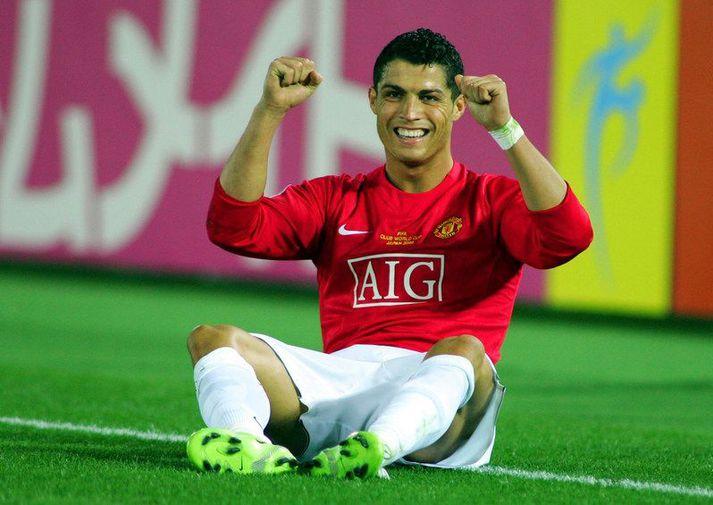 Það myndu örugglega margir fagna því að sjá Cristiano Ronaldo aftur í búningi Manchester United.