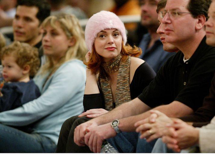 Rose McGowan er þekkt fyrir leik sinn í þáttunum Charmed og kvikmyndum á borð við Scream.