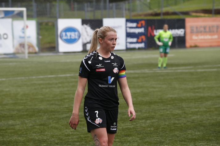 Sandra María Jessen hefur leikið 140 leiki í fyrir Þór/KA.