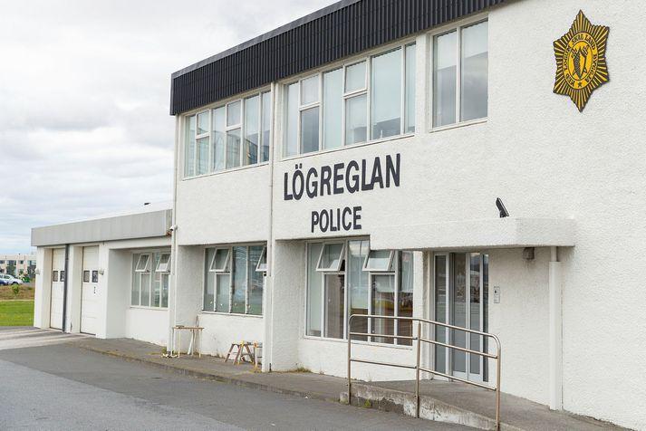 Lögreglustöðin í Reykjanesbæ.