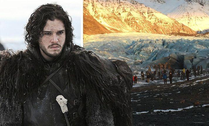 Game of Thrones mun hafa leitt til verulegrar fjjölgunar ferðamanna hér á landi.