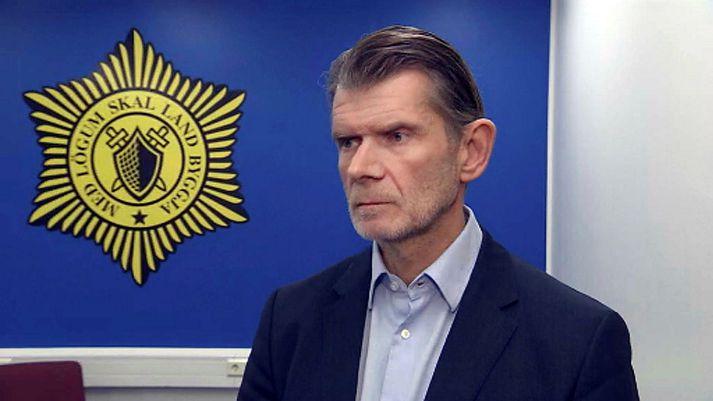 Grímur Grímsson, yfirlögregluþjónn hjá miðlægri rannsóknardeild lögreglunnar á höfuðborgarsvæðinu, segir rannsókn málsins ganga vel.