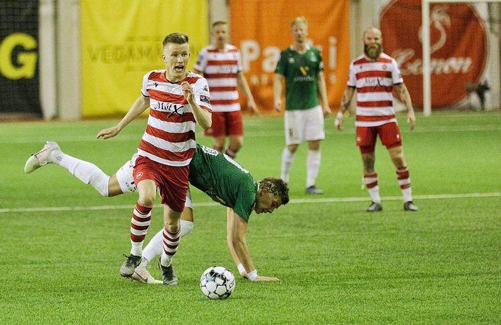 Atli Arnarson vinnur einvígi gegn Höskuldi Gunnlaugssyni.
