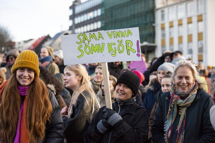Með jafnlaunavottun geta fyrirtæki og stofnanir komið í veg fyrir kynbundinn launamun.