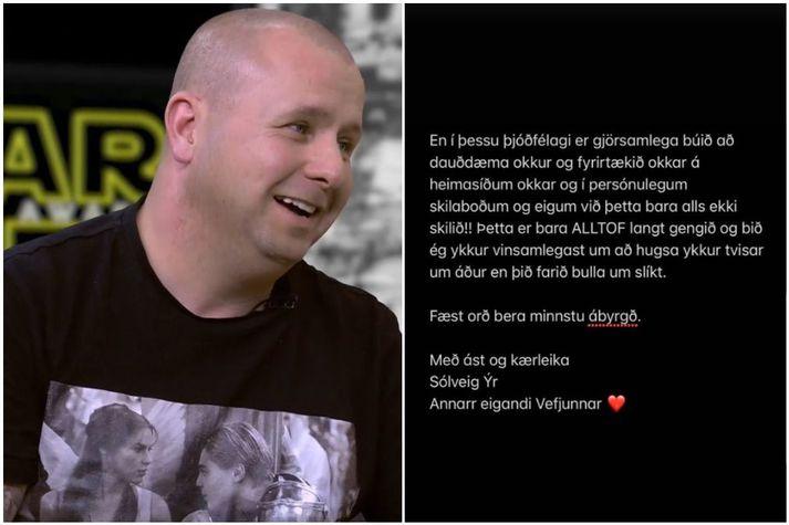 Reynir Bergmann hefur verið harðlega gagnrýndur fyrir ummæli sín um mál Sölva Tryggvasonar.
