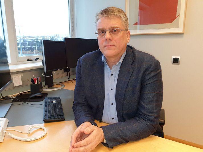 Þórarinn Guðnason, formaður Læknafélags Reykjavíkur.