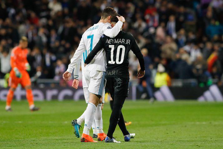 Cristiano Ronaldo og Neymar.