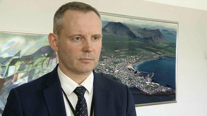 Sævar Freyr Þráinsson, bæjarstjóri Akraness.