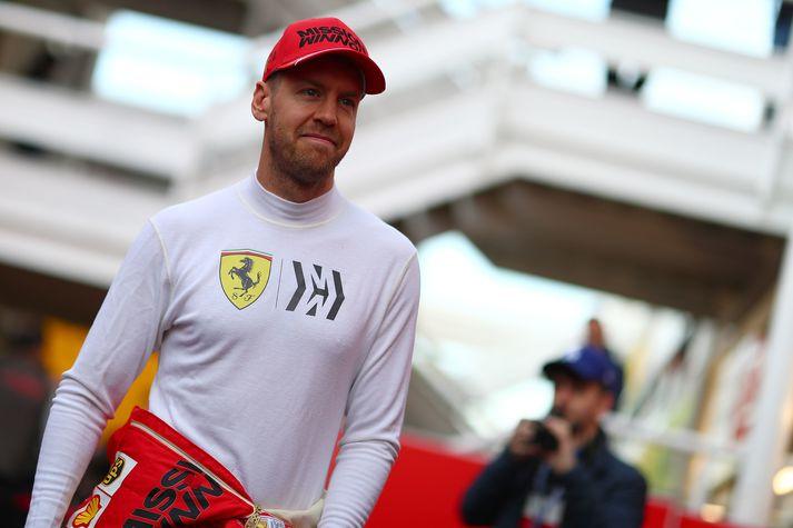 Sebastian Vettel hefur ekki tekist að verða heimsmeistari með Ferrari.