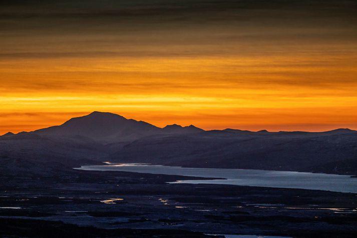 Hæstu hitatölur dagsins verða á Austurlandi ef spár Veðurstofunnar ganga eftir.