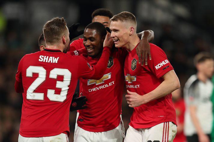 Odion Ighalo hefur staðið sig vel fyrir Manchester United.