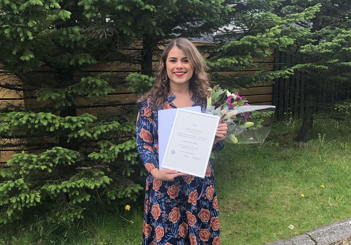 Ivana Anna Nikolic útskrifaðist með hæstu meðaleinkunn á meistaraprófi í sögu Háskóla Íslands.