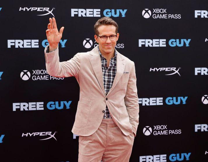 Ryan Reynolds leikur nú í söngleikjakvikmynd.