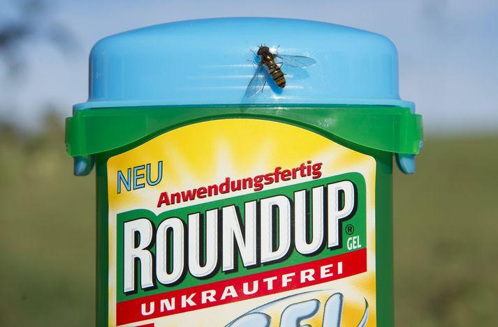 Monsanto framleiðir Roundup. Fyrirtækið ætlar að áfrýja dómnum.