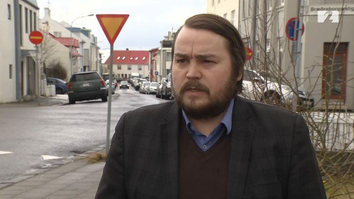 Hólmar Örn Finnsson, persónuverndarfulltrúi hjá embætti Landlæknis.