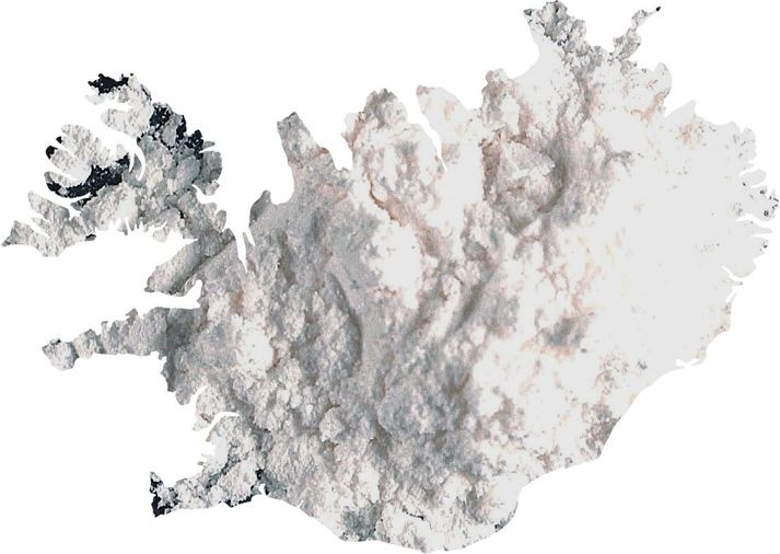 Mikið magn kókaíns hefur fundist í Leifsstöð.