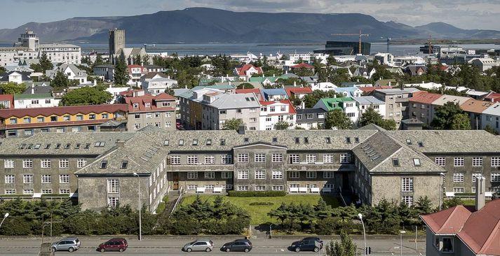 Dvalarheimilið Grund við Hringbraut.