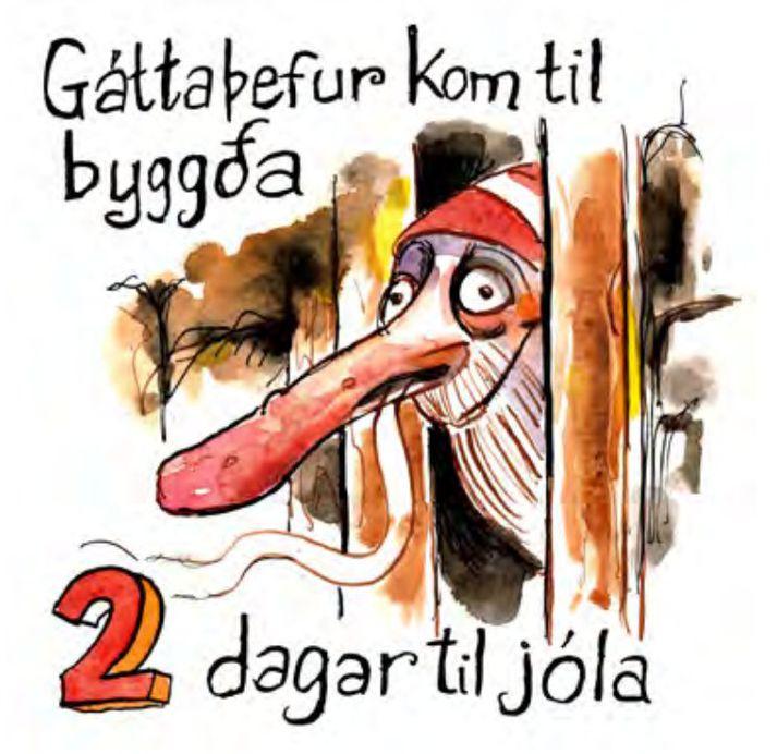 Gáttaþefur gat fundið lykt af nýsteiktu brauði langar leiðir.