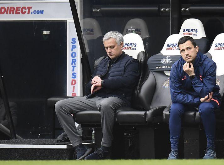 Ummæli José eftir 2-2 jafnteflið gegn Newcastle fóru ekki vel í mannskapinn.
