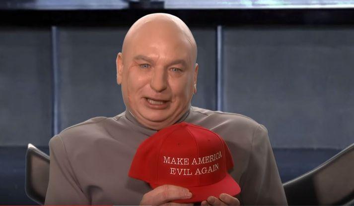 Dr. Evil er með ákveðin plön.