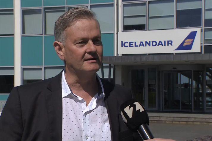 Haukur Reynisson, flugrekstrarstjóri Icelandair.