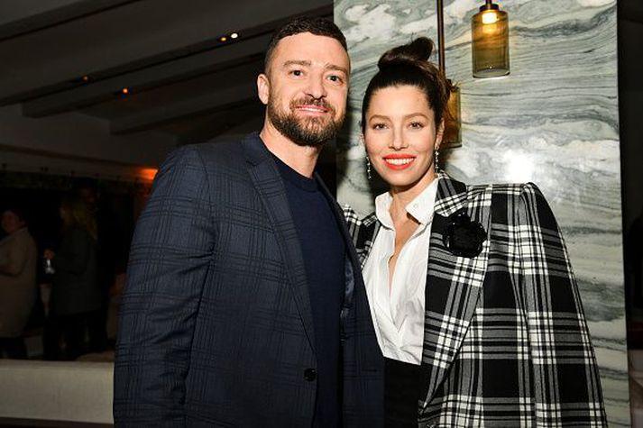 Justin Timberlake og Jessica Biel.