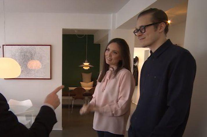 Hafsteinn og Karitas eiga og reka Haf store og Haf Studio.