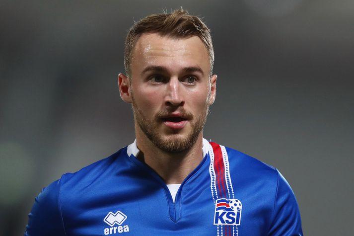 Rúnar Már Sigurjónsson er fyrirliði hjá liði Grasshopper Club Zurich.