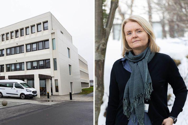 Nanna Briem forstöðumaður Geðþjónustu Landspítala