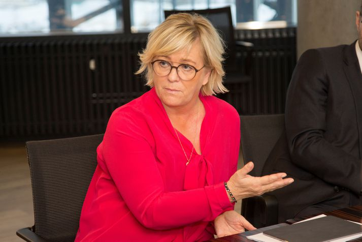 Birna Einarsdóttir er bankastjóri Íslandsbanka.