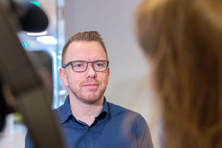 Ragnar Þór Ingólfsson, formaður VR, átti fund með forsvarsmönnum Play.