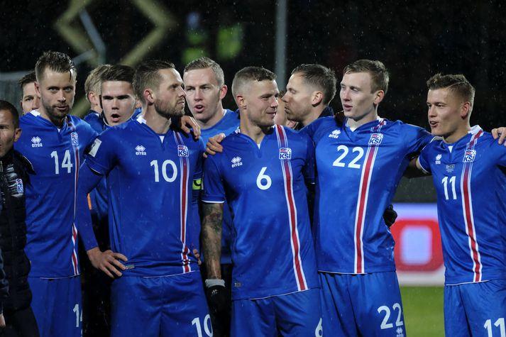 Ísland er í riðli með Argentínu,Króatíu og Nígeríuog spilar íD-riðli á Heimsmeistaramótinu.