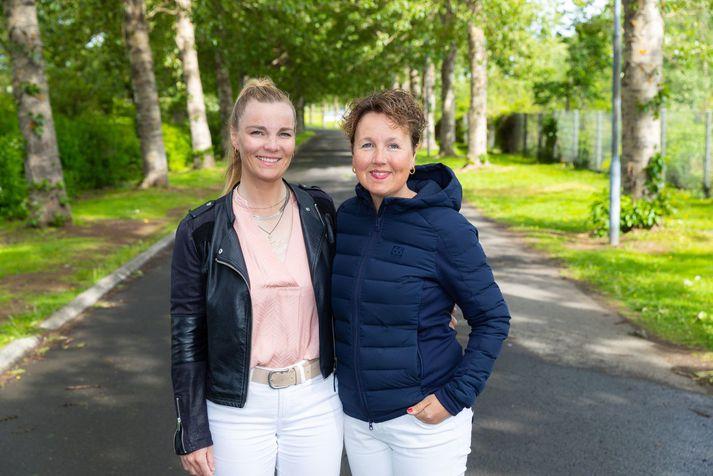 Vilborg Arna Gissurardóttir og Sirrý Ágústsdóttir
