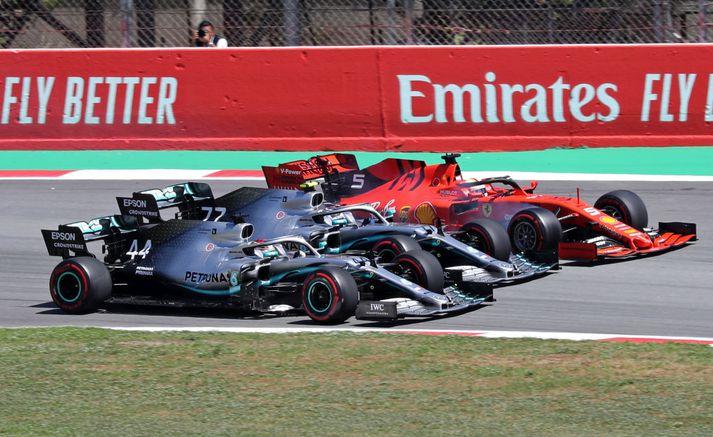 Nú verða Mercedes og Ferrari einnig til umfjöllunar í Drive to Survive