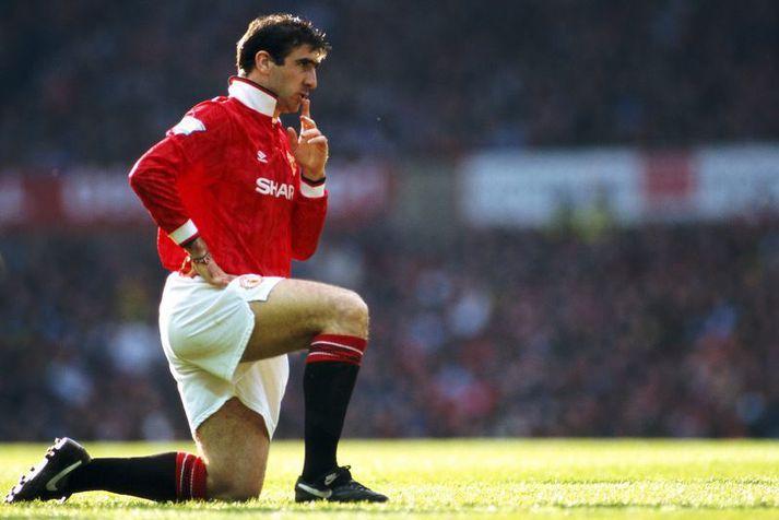 Eric Cantona átti fimm frábær tímabil með Manchester United og kom þar að 126 mörkum í 156 leikjum.