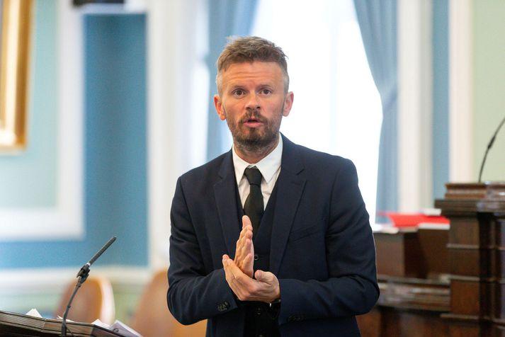 Ágúst Ólafur Ágústsson, þingmaður Samfylkingarinnar, virðist ekki eiga upp á pallborðið hjá félögum Samfylkingarinnar í Reykjavík.