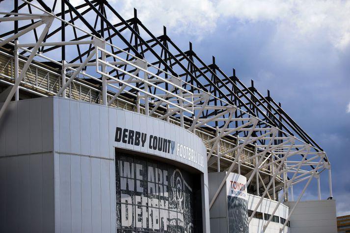 Derby County er í miklum fjárhagsvandræðum.