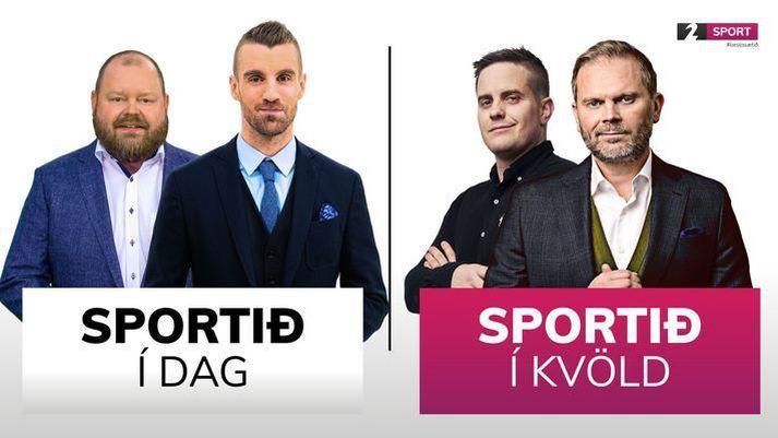 Sportið í dag og Sportið í kvöld verða á sínum stað í dag.