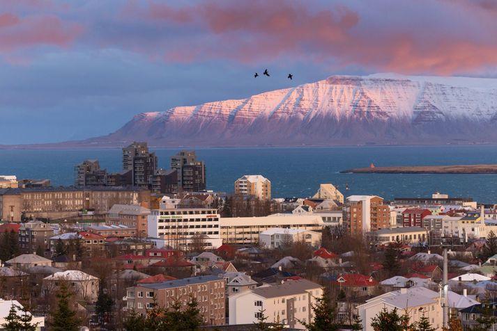 Hiti verður á bilinu núll til sjö stig, en víða næturfrost.