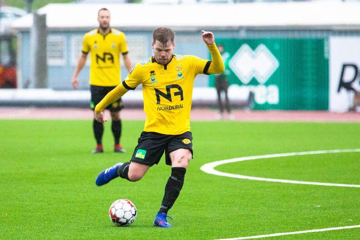 Arnar Már Guðjónsson, reyndasti leikmaður ÍA.