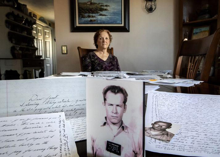 Janet Uhlar og James Bulger skrifuðust á um tíma og sendi hann henni rúmlega 70 bréf.
