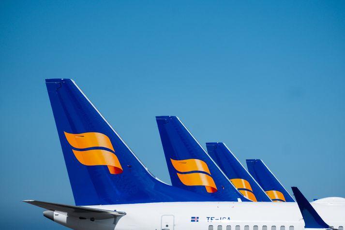 Stórtækar skipulagsbreytingar hafa verið tilkynntar hjá Icelandair