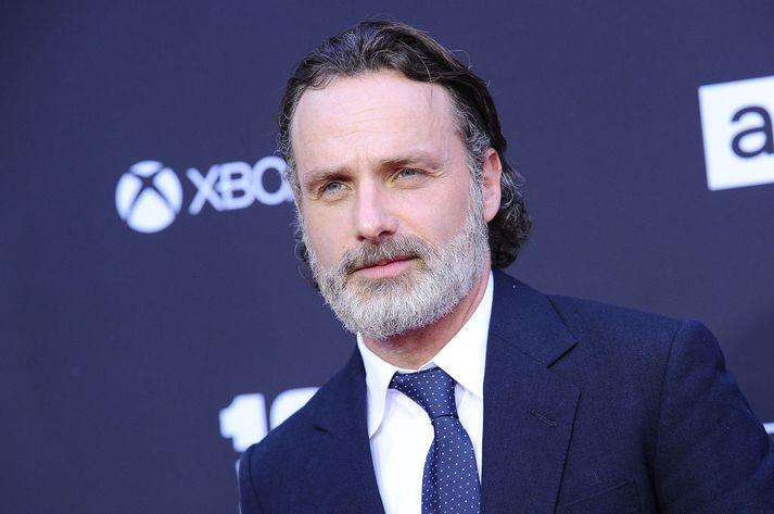 Leikarinn Andrew Lincoln hefur farið með aðalhlutverkið í The Walking Dead síðan árið 2010.