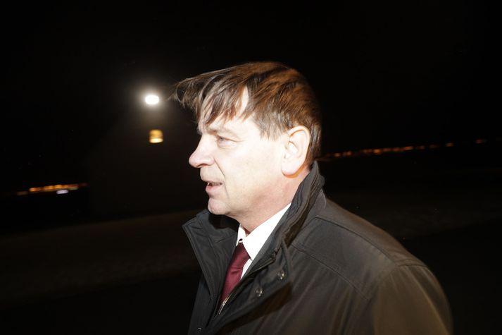 Karl Gauti Hjaltason, fyrrverandi þingmaður Flokks fólksins.