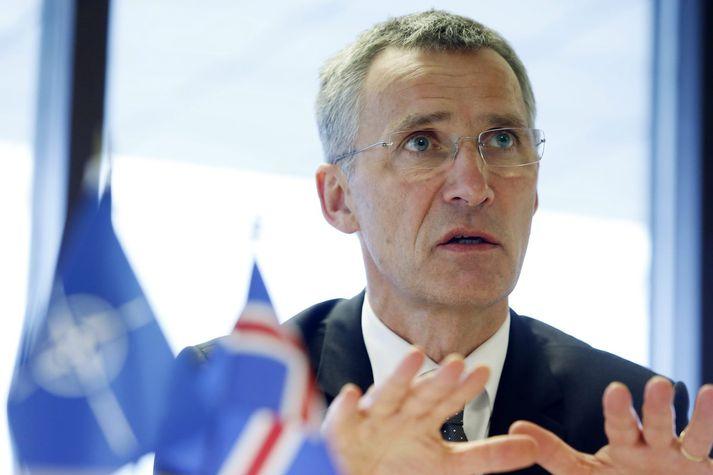 Jens Stoltenberg, framkvæmdastjóri NATO.