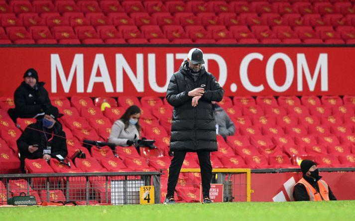 Klopp að reikna út hvenær Liverpool kemst lengra en aðeins í 16-liða úrslit FA-bikarsins.
