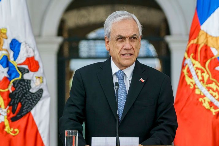 Sebastián Piñera tók við embætti forseta Chile árið 2018. Hann gegndi einnig embættinu á árunum 2010 til 2014.