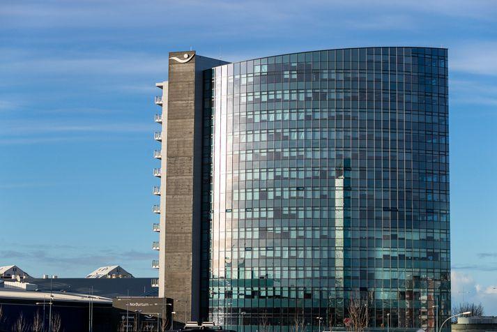 Norðurturn í Kópavogi þar sem höfuðstöðvar Íslandsbanka er að finna.