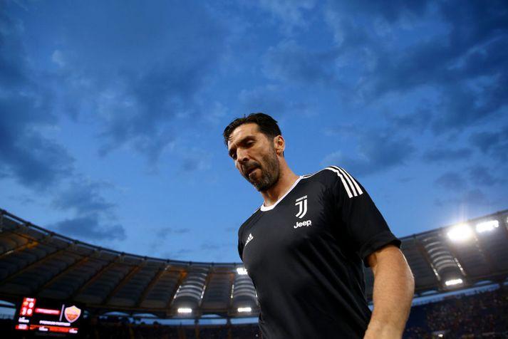 17 ára ferli Buffon hjá Juventus lýkur um næstu helgi.